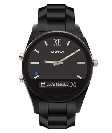 Martian Notifier Black