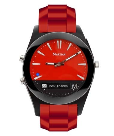 Martian Notifier Red
