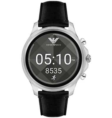 emporio armani connected watch