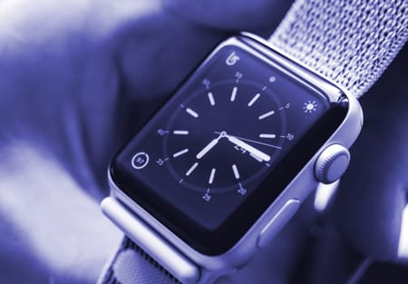 Apple watch for tracking