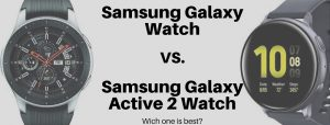 galaxy watch vs active 2