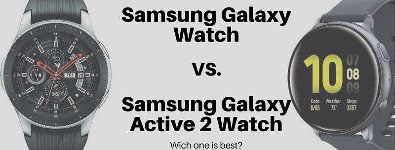 galaxy watch vs active 2